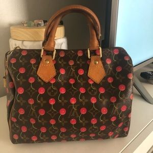 Louis Vuitton cherry speedy 25 🍒
